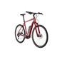 Cube Cross Hybrid Pro 400 E-hybride fiets, rood
